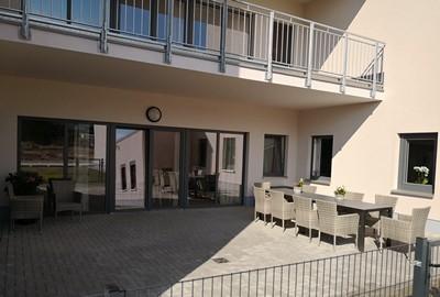 Terrasse Haus Alma