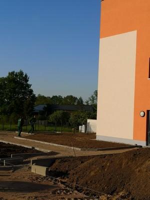 Demenzgarten, Haus alma, Seniorenzentrum Hohburg, Pflegeheim, Lossatal