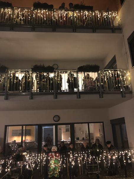 Feuerwerk im Haus alma